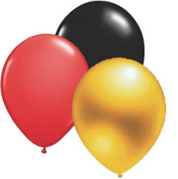 Luftballons FUSSBALLPARTY