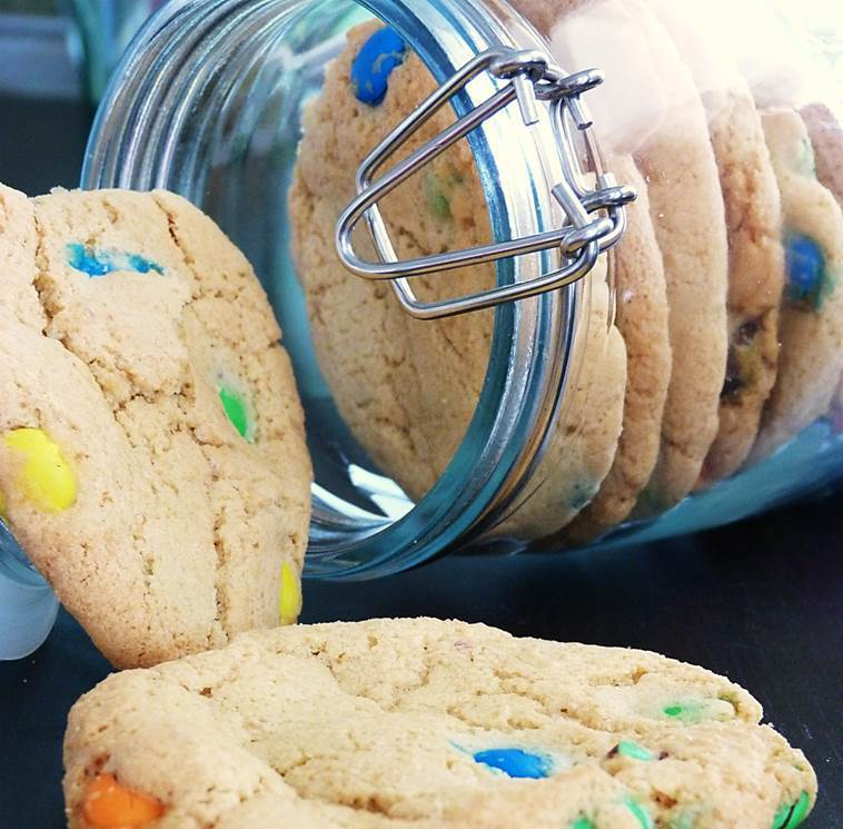 Rezept M&M Cookies (download)